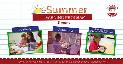 Trix Academy at PLA Summer Learning Program